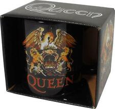 Queen: Classic Crest Ceramic Coffee / Tea Mug - New & Official In Box