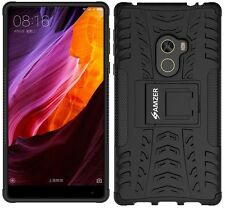 AMZER Rugged Dual Layer Hybrid Warrior Case With Stand For Xiaomi Mi Mix - Black