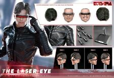 Toys Era 1/6 Scale X-men The Laser Eye Collectible Action Figure 2 Heads Box_set