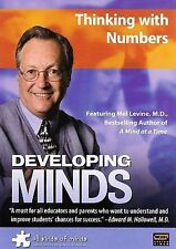 Developing Minds: Thinking with Numbers 2007 by WGBH BOSTON VIDEO Ex-library
