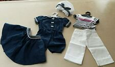 AMERICAN GIRL SAMANTHA'S 1904 BATHING COSTUME Lot Seaside Sailor Beach