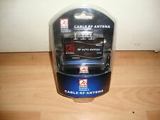 CABLE RF ANTENA PARA LA SONY PLAY STATION 2 PS2 NUEVO PRECINTADO EN BLISTER