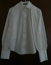 Dolce & Gabbana white cotton shirt with neck tie  - Size Italy 40 (UK 8)