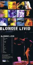 "Blondie ""Livid"" 17 Songs, darunter ""Heart of glass"" und ""Sunday girl""! Neue CD!"