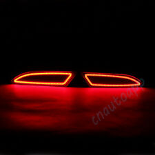 LED Rear Bumper Warning Lights Car Brake Lamp Turn Signal For Ford Focus 2012-15