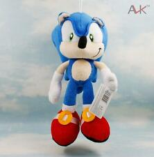 Mini 27cm Sega Sonic the Hedgehog Plush Doll Blue Stuffed Toy