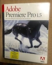 RA ADOBE Premiere Pro 1.5 for WINDOWS Real-time Video Editing/Production Premier