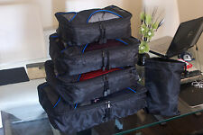 X500 Travel Cube System: 4pc Packing Cubes - Travel Organisers with Laundry Bag