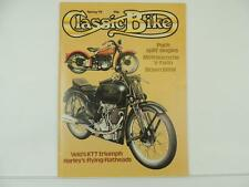 Vintage Spring 1979 CLASSIC BIKE Magazine Puch BMW Motosacoche Harley L5304