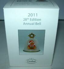 """2011 GOEBEL ANNUAL BELL """"NEW""""   # G106342 28TH EDITION"""