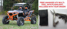ORANGE Super ATV Polaris RZR S 1000 900 XP 900 XP 1000 Front Bumper Brush Guard