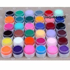 36 Pot Solid UV Gel Pure Color Decor Nail Art Tips Lamp Shiny Extension Manicure
