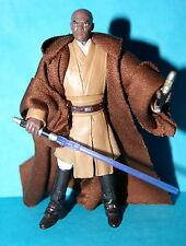 STAR WARS VINTAGE COLLECTION MACE WINDU VC35 LOOSE COMPLETE