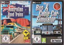 Australian Road Trains Truck Frachtzüge LKW + Bus- & Cable-Car-Simulator PC