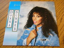 """DONNA SUMMER - LOVE'S ABOUT TO CHANGE MY HEART  7"""" VINYL PS"""