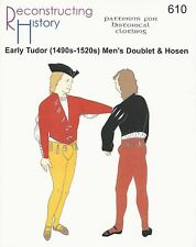 Schnittmuster RH 610: Early Tudor Men's Doublet & Hosen