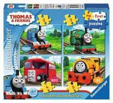 Ravensburger 07053 Thomas And Friends My First Puzzle Children Jigsaw 4-in-1 Box
