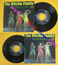 LP 45 7'THE RITCHIE FAMILY I feel disco good In love 1979 italy DURIUM cd mc*dvd