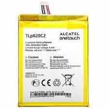 BATTERIA ORIGINALE ALCATEL 2000MAH PER ONE TOUCH IDOL OT 6040D 6040X TLp020C2