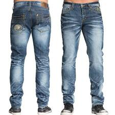 NEW Affliction Gage Rising Men's Slim Fit Jeans in Belmont Wash 110SK027 Size 36