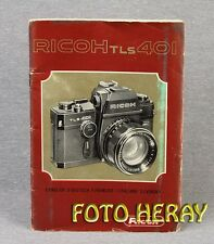Ricoh TLS 401 originale Anleitung, instructions 02410