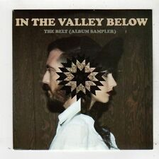 (FZ494) In The Valley Below, The Belt album sampler - 2013 DJ CD