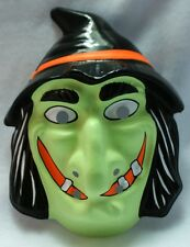 Vintage Witch Halloween Mask Horror Universal Monsters October Y130