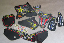 FLU DESIGNS TEAM  ROCKSTAR GRAPHICS &  BACKGROUNDS  SUZUKI RM85  2002-2016