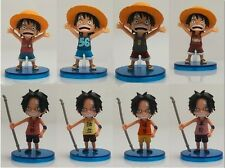 ONE PIECE GASHAPON FIGURE 8 CM RUFY CHILDREN DWC LUFFY ACE RANDOM UNA A CASO