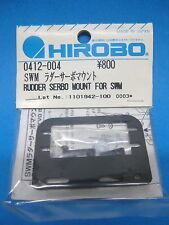 Original HIROBO Heckservo Halter 0412-004 SHUTTLE SXX Rudder servo mount set