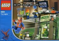 LEGO 4851 - SPIDER-MAN - Spider-Man & Green Goblin - The Origins - NO BOX
