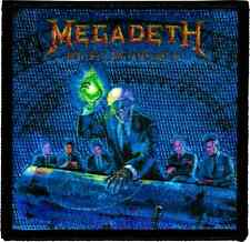 89081 Rust In Peace Album Cover Megadeth Iron Sew On Patch Licensed Metal Band
