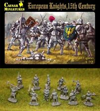 30 Figurines CHEVALIERS EUROPEENS, CAESAR Miniatures N° 091