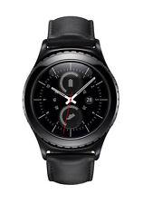 Samsung Gear S2 Classic 30mm Edelstahl Geh�use in Schwarz mit Klassisches...