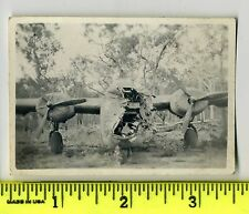 B-24 Liberator with destroyed nose