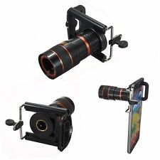 Universal 8X Long Focal Lens Telescope for Mobile Cell Smart Phone Camera 4-7cm