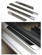 Stainless Door Sill Scuff Protector Plate Guard For VW JETTA 4 5 6 MK4/5/6 04-13