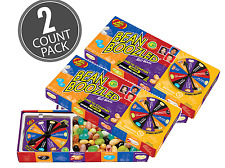 2 BOX'S BEAN BOOZLED Spinner Game 3.5oz Jelly Belly. HIGH DEMAND!!