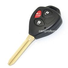 New Uncut Remote Key Fob 3 Button 314.3Mhz G Chip for 2010-2015 Toyota 4Runner