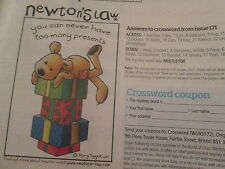 'You can never have too many presents' Newton's Law cross stitch chart (only)