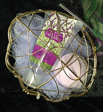 BATH PACK Lavender in wire clam  Bath bomb, Shower Gel and sponge