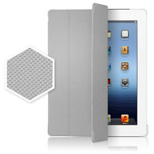 iPad 2 3 4th Magnetic Micro-Honeycomb Print Case Smart Cover Choose ALL Colors