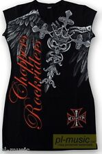 = women's tunic SKULLS - ROCK RIDER CHOPPERS  - size M tunika damska.motorcycles