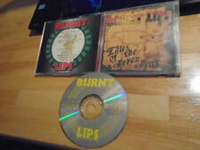 RARE SIGNED Burnt Lips CD Tales of the Seven Seas INDEPENDENT reggae rock CO '94