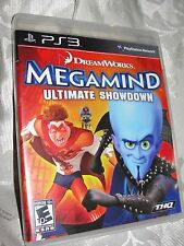 Megamind Ultimate Showdown Playstation Three PS3 Video Game Very GoodCondition