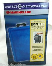 Marineland Rite Size E Filter Aquarium Cartridge Refills Fits Emperor 280 400