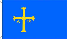 5' x 3' Asturias Flag Spain Spanish Flags Banner
