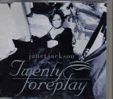 Janet Jackson-Twenty Foreplay Promo cd single