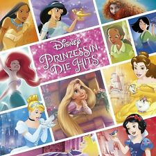DISNEY PRINZESSIN:DIE HITS (LIMITED DELUXE EDITION,ORIGINAL SOUNDTRACK) 2CD NEU