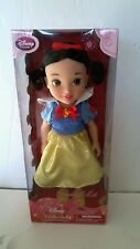 "Disney Store Princess Collection 16"" Snow White Toddler Doll ~ NEW htf"